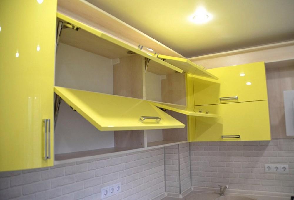 Акриловые кухни-Кухня МДФ в эмали «Модель 167»-фото6