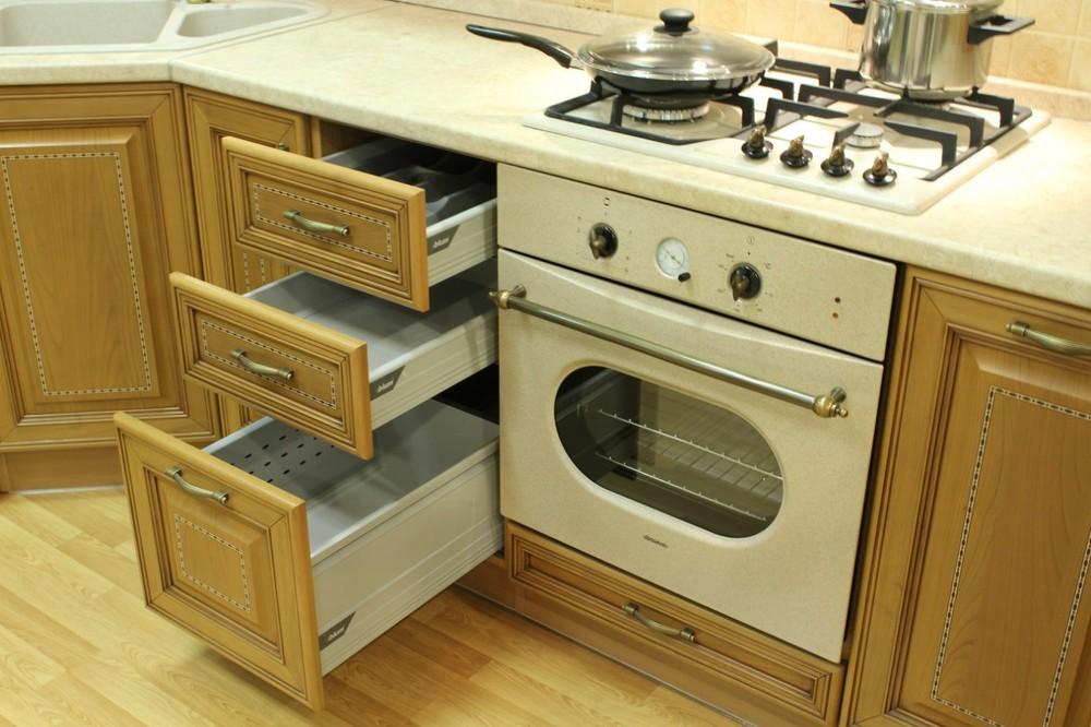 Дорогие и элитные кухни-Кухня из массива «Модель 127»-фото10