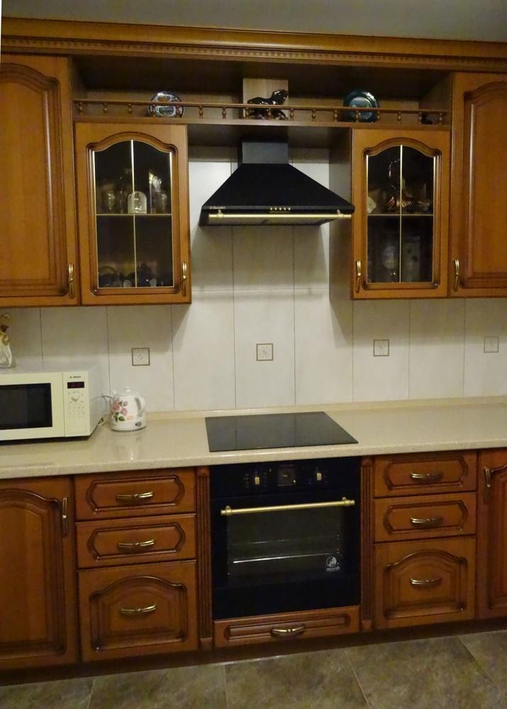 Встроенная кухня-Кухня из массива «Модель 22»-фото3