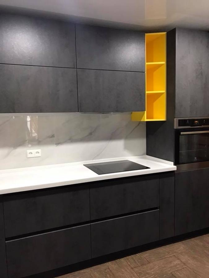 Встроенная кухня-Кухня из пластика «Модель 189»-фото1