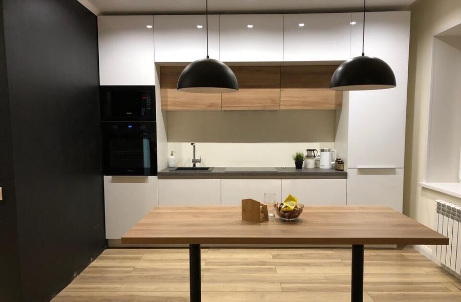 Акриловые кухни-Кухня из акрила «Модель 349»-фото1