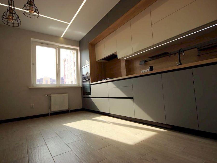 Встроенная кухня-Кухня МДФ в эмали «Модель 662»-фото3