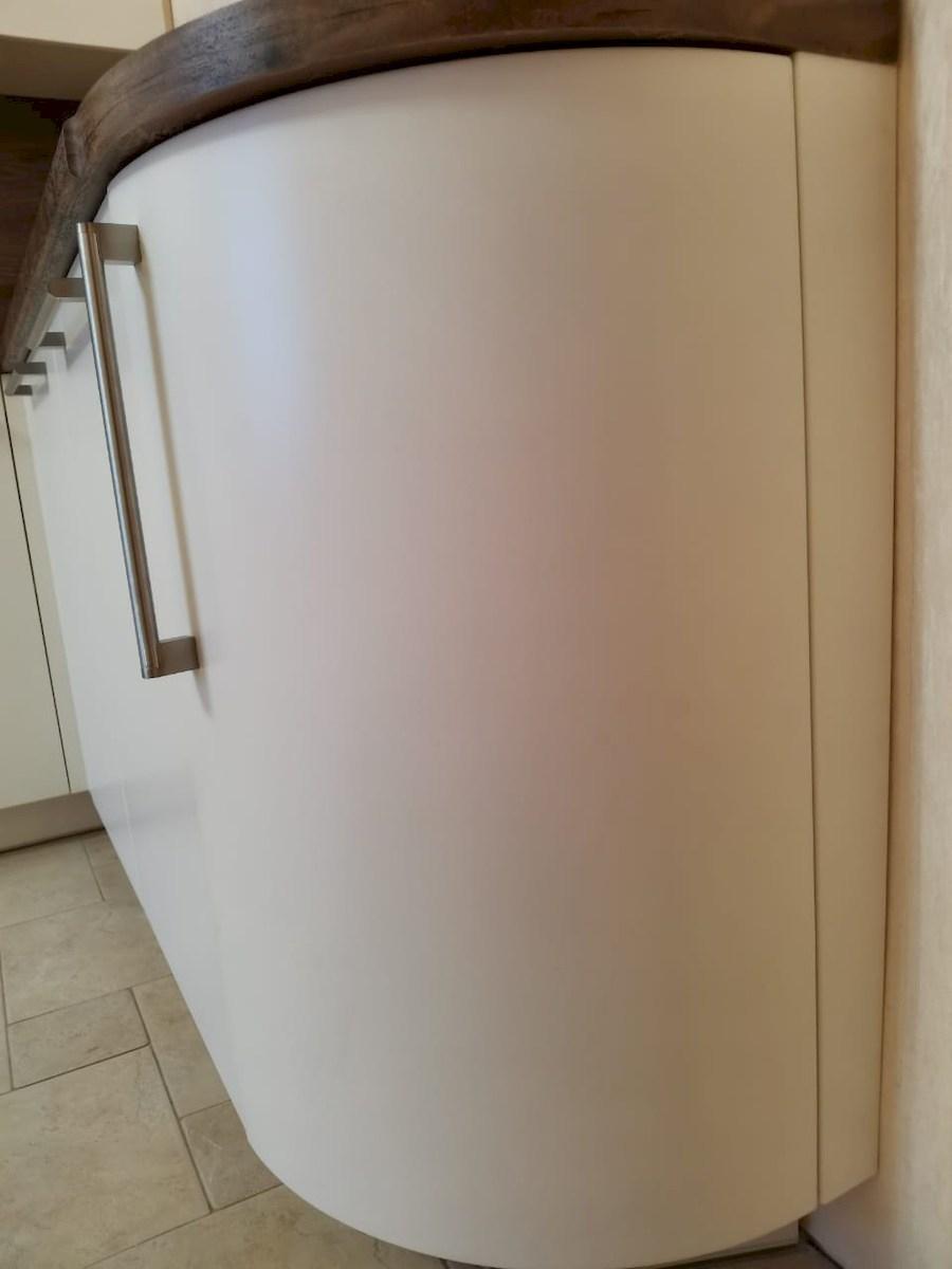 Белый кухонный гарнитур-Кухня МДФ в ПВХ «Модель 579»-фото8