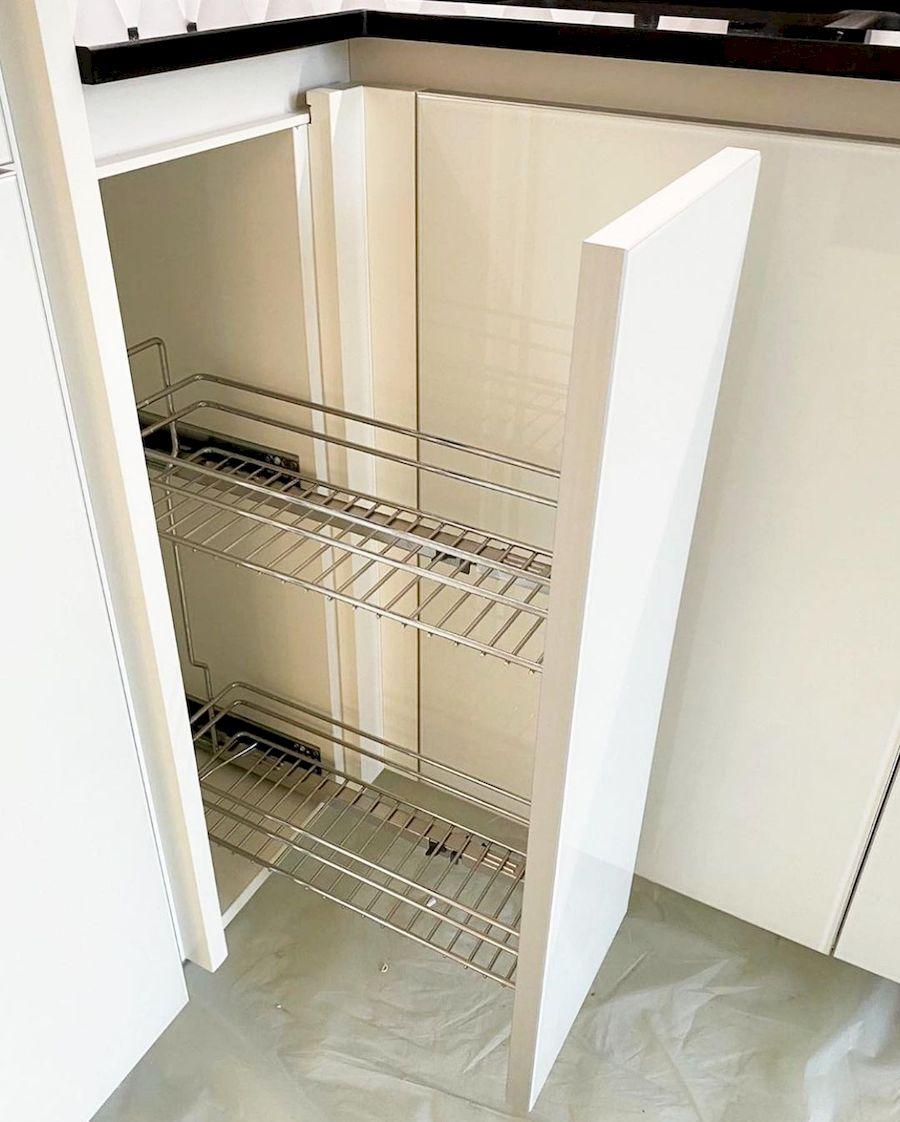Акриловые кухни-Кухня из акрила «Модель 664»-фото3