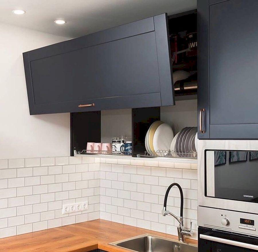 Классические кухни-Кухня МДФ в эмали «Модель 667»-фото3