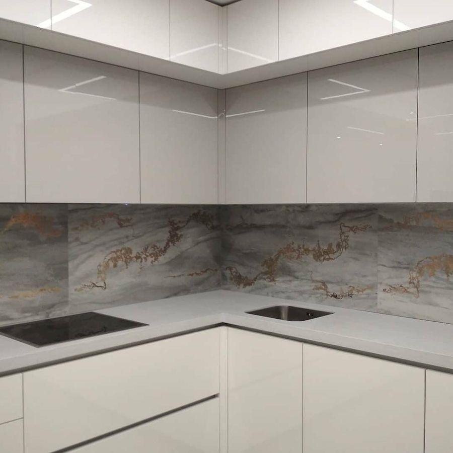 Акриловые кухни-Кухня из акрила «Модель 646»-фото4