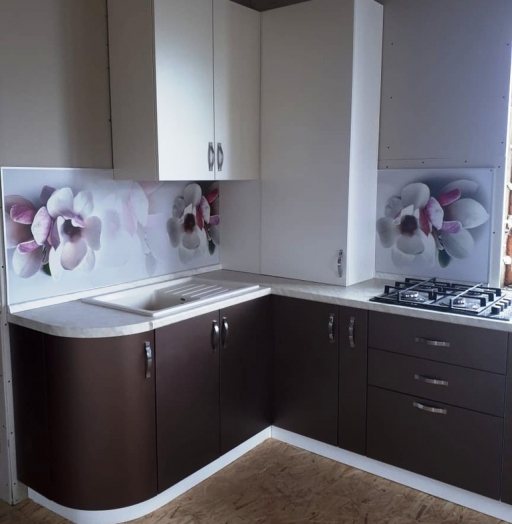 -Кухня из пластика «Модель 392»-фото14