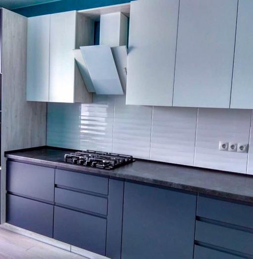 -Кухня МДФ в эмали «Модель 419»-фото7