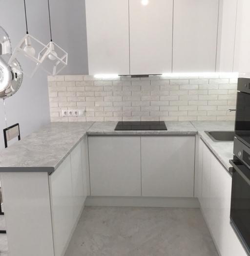 -Кухня МДФ в эмали «Модель 431»-фото21