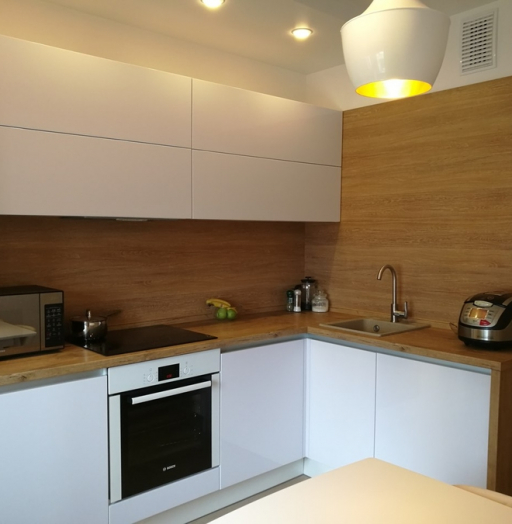-Кухня из пластика «Модель 438»-фото15