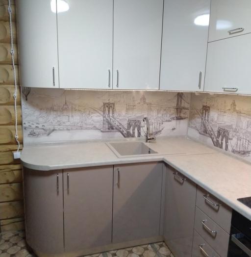 -Кухня МДФ в ПВХ «Модель 38»-фото11
