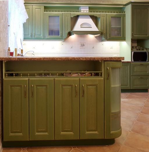 -Кухня из массива «Модель 23»-фото1