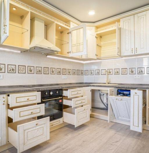 -Кухня из шпона «Модель 562»-фото24