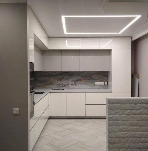 Акриловые кухни-Кухня из акрила «Модель 646»-фото9